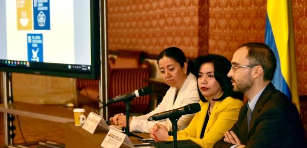 Las Agencias de Cooperación del Sistema de Naciones Unidas presentaron el informe anual sobre sus gestiones en Colombia durante el año pasado