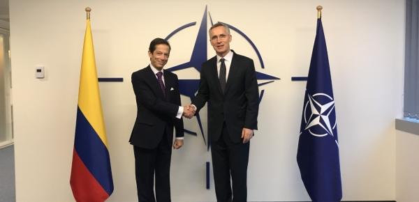 Por primera vez Colombia tiene un Jefe de Misión ante la OTAN