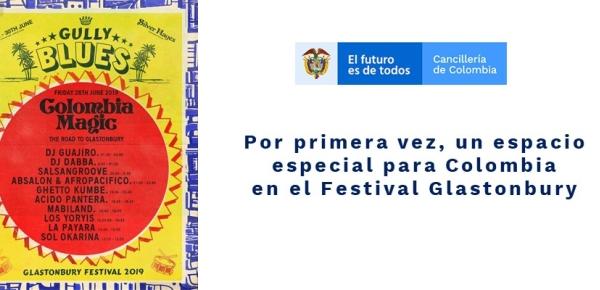 Por primera vez, un espacio especial para Colombia