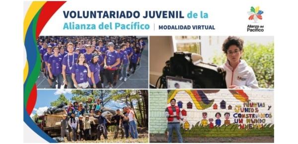 ¡Postula al Programa de Voluntariado Juvenil de la Alianza del Pacífico y vive una experiencia de integración con jóvenes