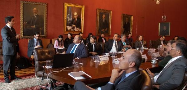 Canciller Carlos Holmes Trujillo lidera ingreso de Colombia al Preclearance, sistema que permite que los colombianos que viajen a Estados Unidos realicen procesos aeroportuarios en Bogotá