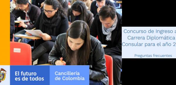 Preguntas Frecuentes sobre Concurso de Ingreso a la Carrera Diplomática y Consular para el año 2022