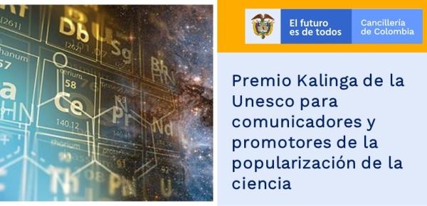 Premio Kalinga de la Unesco para comunicadores