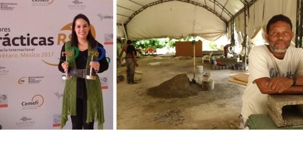 Centro Mexicano para la Filantropía entregó premio a proyecto ´Glass Build Lives´ de la Cancillería de Colombia