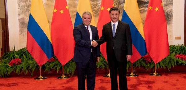 Presidente Iván Duque invitó al Presidente de la República Popular China a visitar Colombia