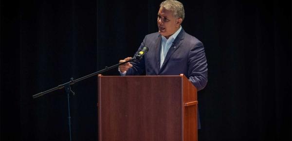 'Hoy la economía colombiana se ve proyectada para crecer por encima del 3%, cuando América Latina apenas está prevista para crecer el 0,5%' Presidente Iván Duque