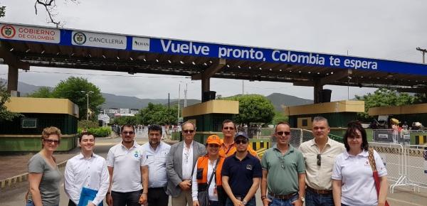 Organismo de Cooperación Internacional y Desarrollo de la Comisión Europea visitó la frontera con Cúcuta para conocer la crisis migratoria proveniente de Venezuela
