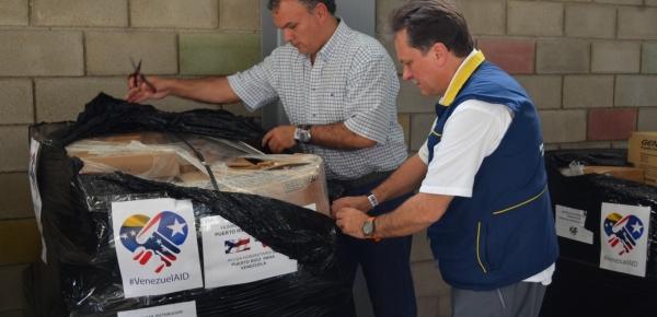 Puerto Rico se suma a las ayudas humanitarias que llegan a Colombia con destinación al pueblo venezolano