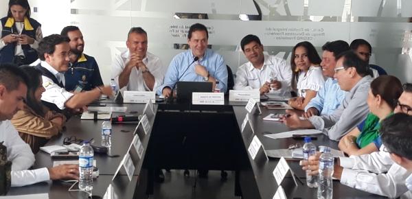 """""""Reconocemos el trabajo de Cancillería en la visibilización internacional de la crisis migratoria"""": Viceprocurador Cortés"""