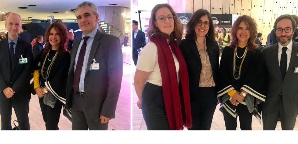 Directora de Asuntos Migratorios, Consulares y Servicio al Ciudadano de la Cancillería se reunió con directores de la Organización para la Cooperación y el Desarrollo Económicos