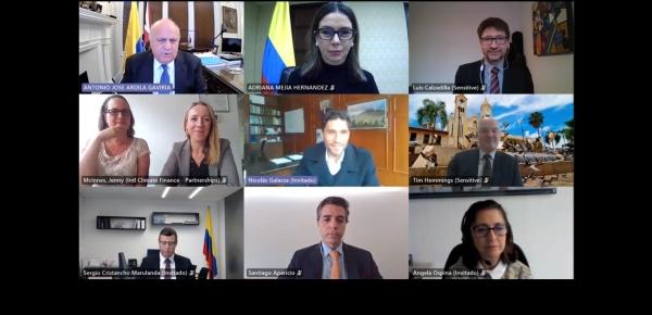 Aliados en la acción climática: Segundo Aniversario de la Alianza Colombia- Reino Unido para el Crecimiento Sostenible