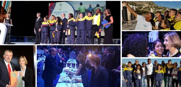 Resumen del premio internacional de Deporte y Paz en la categoría Acción Diplomática del Año que ganó la Cancillería de Colombiana