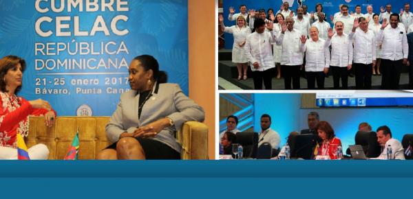 Resumen de la participación de la Canciller Holguín en V Cumbre de la Comunidad de Estados Latinoamericanos y Caribeños (Celac)