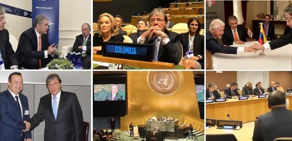 Presidente Duque y Canciller Trujillo concluyeron tercer día en el 73 Período Ordinario de Sesiones de la Asamblea General de las Naciones Unidas