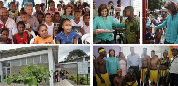 Canciller Holguín inauguró Casa Lúdica que beneficia a más de 300 jóvenes en Tumaco, en el país ya son 12.000 los menores que disfrutan de estos espacios protectores