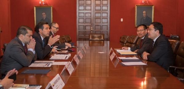 Viceministro (e) de Relaciones Exteriores de Colombia y Secretario de Estado de Mongolia presidieron la III Reunión de Consultas Políticas en Bogotá