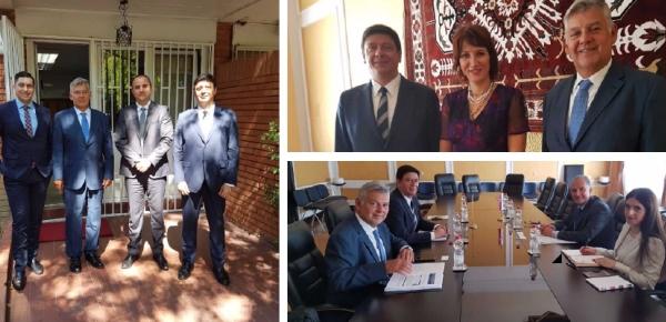 Director de Europa inicia gira de trabajo en Serbia en donde se reunió con representantes del Ministerio de Relaciones Exteriores de ese país