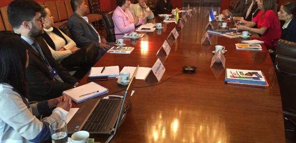 Cancillería de Honduras está interesada en implementar líneas de trabajo del programa Colombia Nos Une de la Dirección de Asuntos Migratorios, Consulares y Servicio al Ciudadano, en ese país