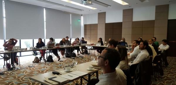 Reunión técnica para el fortalecimiento de la estrategia de negociación de los países de la Asociación Independiente de Latinoamérica y el Caribe se buscó una estrategia para reducir las emisiones de gases de efecto invernadero
