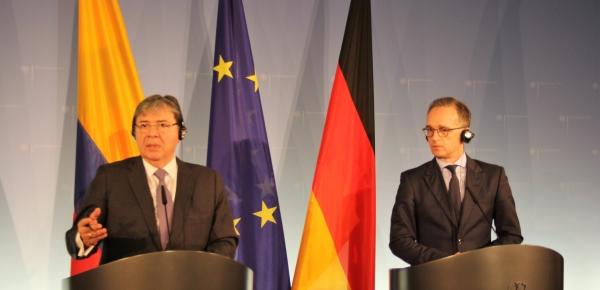 Estamos acá para aprender de la experiencia alemana en la gestión de crisis migratoria y hemos venido a solicitarles cooperación: Canciller Trujillo