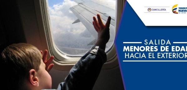 Evite inconvenientes si va a viajar con menores de edad desde Colombia hacia exterior