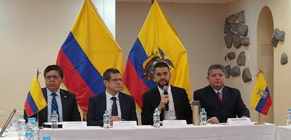 Se celebró la VI Reunión de la Comisión Mixta de Drogas Ecuador-Colombia