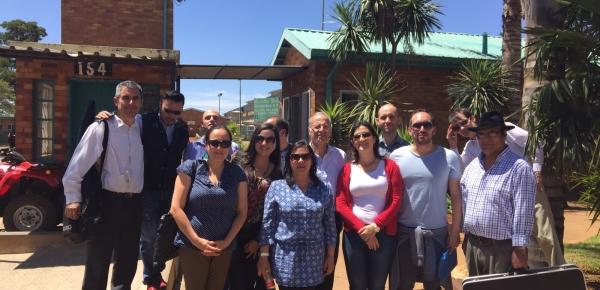 La Embajada de Colombia en Sudáfrica celebró el segundo día Iberoamericano para los ciudadanos hispanoamericanos privados de la libertad en la Prisión de Moderbee