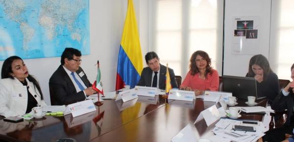 Se realizó la III Reunión del Grupo de Trabajo sobre Asuntos Migratorios y Consulares México – Colombia con el objetivo de impulsar el trabajo y cooperación