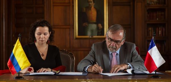 Colombia y Chile celebran Reunión de Evaluación de medio término del Programa Bilateral de Cooperación 2018-2020