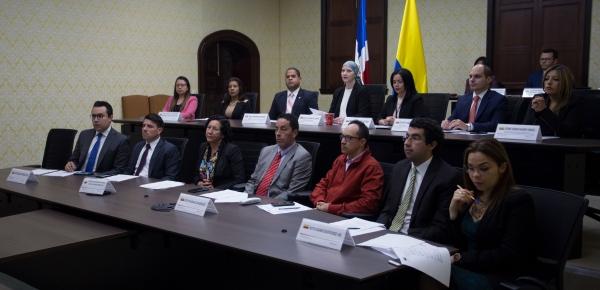 Colombia y República Dominicana refuerzan sus lazos de cooperación y amistad, mediante la celebración de la V Reunión de la Comisión Mixta