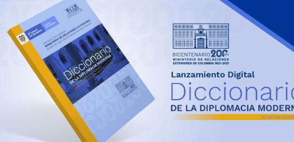 Diccionario de la Diplomacia Moderna - Lanzamiento Digital  en 2021
