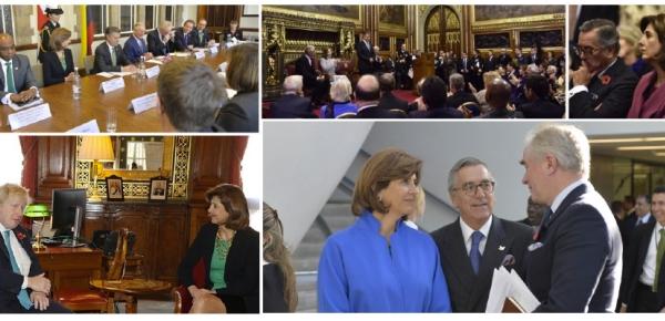 Colombia y Reino Unido: Una agenda de cooperación con resultados