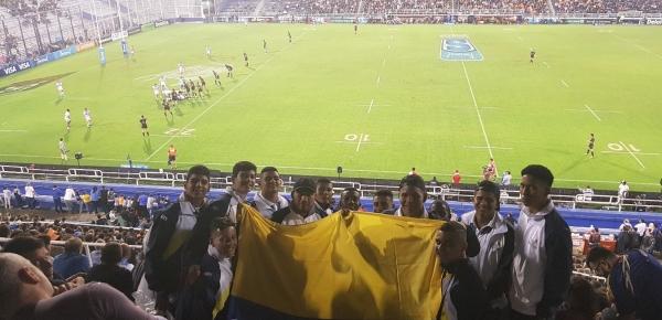 Diplomacia Deportiva y Cultural de Cancillería llevó su rugby a Argentina