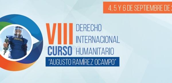 """En este 2019 inscríbase en el VIII Curso en Derecho Internacional Humanitario """"Augusto Ramírez Ocampo"""""""