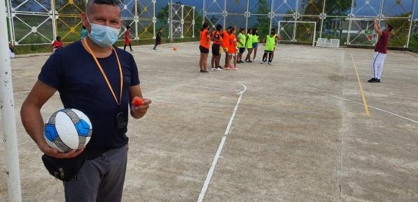 Cancillería entrega dotación deportiva y cultural a las Casas Lúdicas del Programa Integral Niños, Niñas y Adolescentes