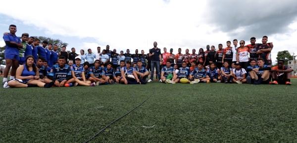 Más de 250 jóvenes de distintas regiones del país participaron en primer Torneo Nacional de Rugby 7s de Diplomacia Deportiva