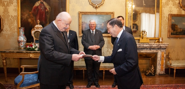 Embajador Julio Aníbal Riaño presentó cartas credenciales como Embajador Concurrente ante Malta