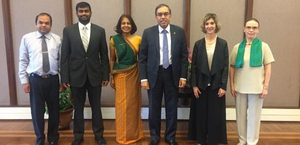 La Viceministra Londoño realizó su primera visita oficial a Sri Lanka