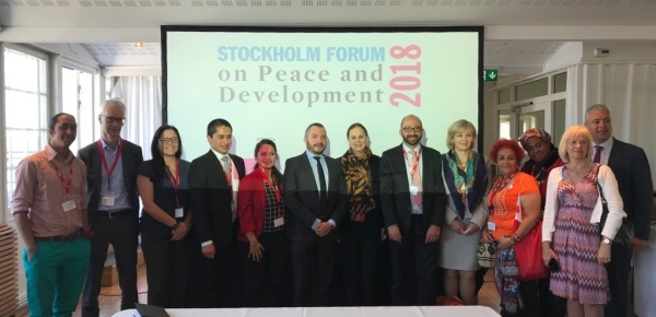 Embajada en Suecia acompaña a la Agencia de Reincorporación y Normalización y a la Universidad Externado de Colombia en el Foro de Paz y Desarrollo en Estocolmo