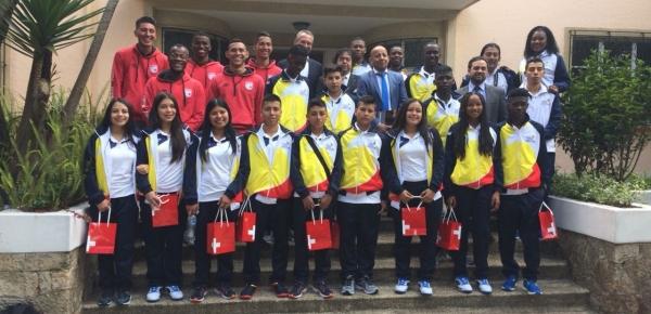 De Nariño a Suiza: 15 jóvenes representarán a Colombia en un intercambio deportivo realizado por la Cancillería