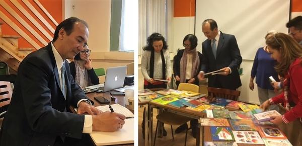 Embajador de Colombia en Suiza se reunió con representantes de la Asociación Escuelita ONEX