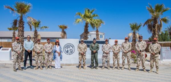 Visita de la Embajada de Colombia en Israel a la Fuerza Multinacional de Paz y Observadores en el Sinaí
