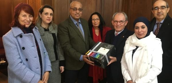 La Universidad Mohammed V de Rabat expresó su interés por establecer cooperación académica con Colombia