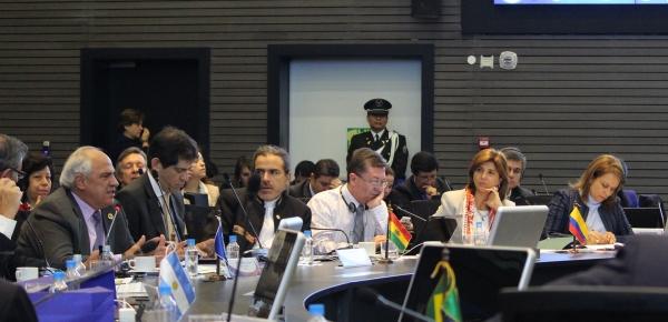Canciller María Ángela Holguín participó en el Consejo de Ministros de Unasur donde fue presentado el informe de Uruguay, como Presidente Pro Témpore del mecanismo, y de la Secretaría General