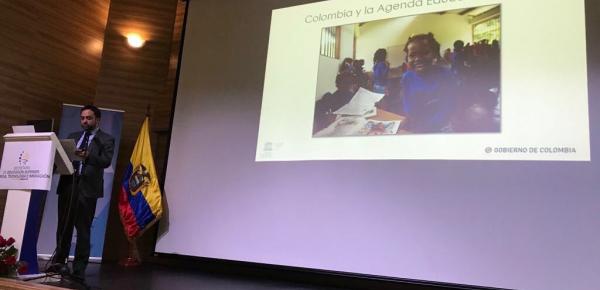 Director de Asuntos Culturales de Cancillería fue invitado especial en el Lanzamiento del Informe de Seguimiento de la Educación de la Unesco