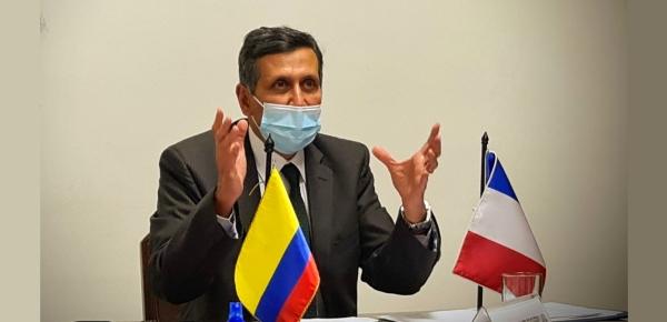 Viceministros de Colombia y Francia dialogaron sobre asuntos bilaterales y multilaterales en reunión virtual