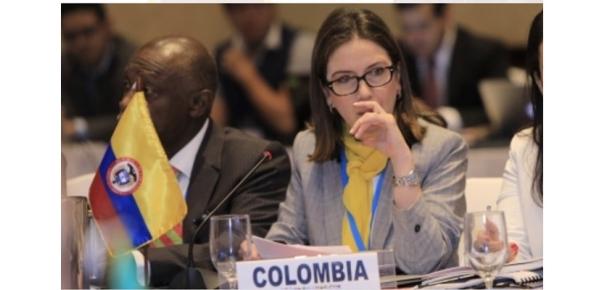 Viceministra Adriana Mejía participó en la VI Reunión de Coordinadores Nacionales de PROSUR