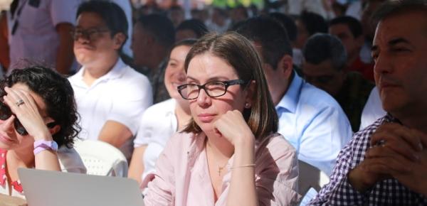 Viceministra de Asuntos Multilaterales, Adriana Mejía Hernández, participó en Taller Construyendo País desde San José del Guaviare