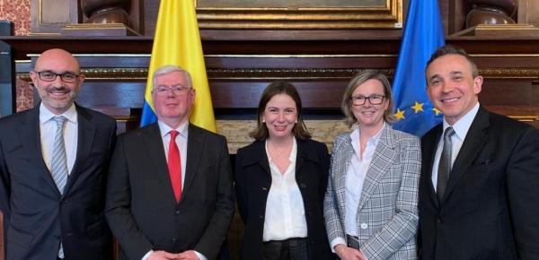 En la Cancillería se realiza la 11ª Edición del Diálogo de Derechos Humanos entre Colombia y la Unión Europea