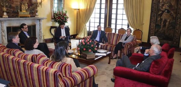 Viceministro de Relaciones Exteriores dialogó sobre consolidación de paz y crisis migratoria venezolana con el Eurodiputado Javier Nart y embajadores de la Unión Europea en Colombia